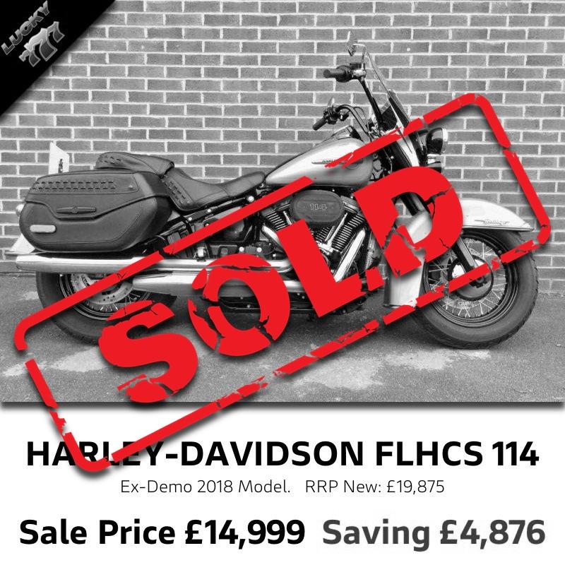 Harley-Davidson FLHCS Heritage Softail 114